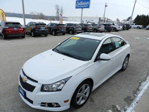 2014 Chevrolet Cruze for sale at Leitheiser Car Company in West Bend WI