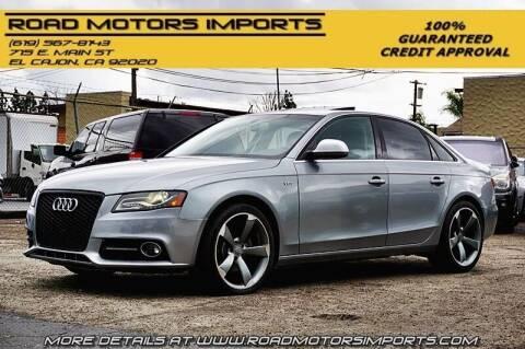 2009 Audi A4 for sale at Road Motors Imports in El Cajon CA