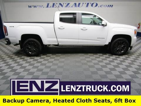 2020 GMC Canyon for sale at LENZ TRUCK CENTER in Fond Du Lac WI
