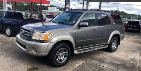 2004 Toyota Sequoia for sale at Baton Rouge Auto Sales in Baton Rouge LA