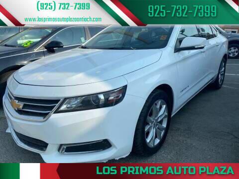 2014 Chevrolet Impala for sale at Los Primos Auto Plaza in Antioch CA