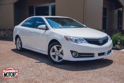2014 Toyota Camry for sale at Mcandrew Motors in Arlington TX