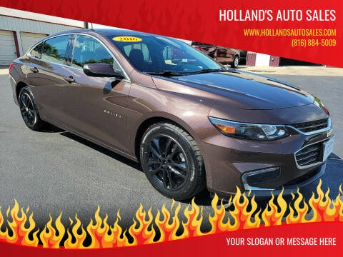 2016 Chevrolet Malibu for sale at Holland's Auto Sales in Harrisonville MO