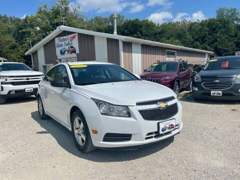 2012 Chevrolet Cruze for sale at Victor's Auto Sales Inc. in Indianola IA