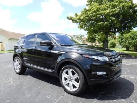 2013 Land Rover Range Rover Evoque for sale at SUPER DEAL MOTORS 441 in Hollywood FL