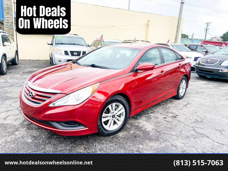 2014 Hyundai Sonata for sale at Hot Deals On Wheels in Tampa FL