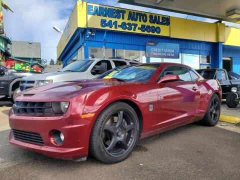 2011 Chevrolet Camaro for sale at Earnest Auto Sales in Roseburg OR