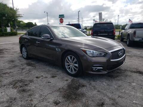 2017 Infiniti Q50 for sale at Mike Auto Sales in West Palm Beach FL