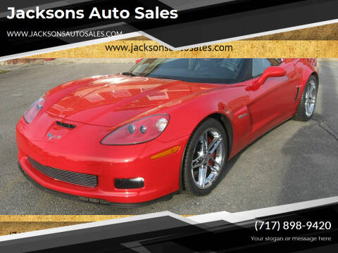 2007 Chevrolet Corvette for sale at Jacksons Auto Sales in Landisville PA