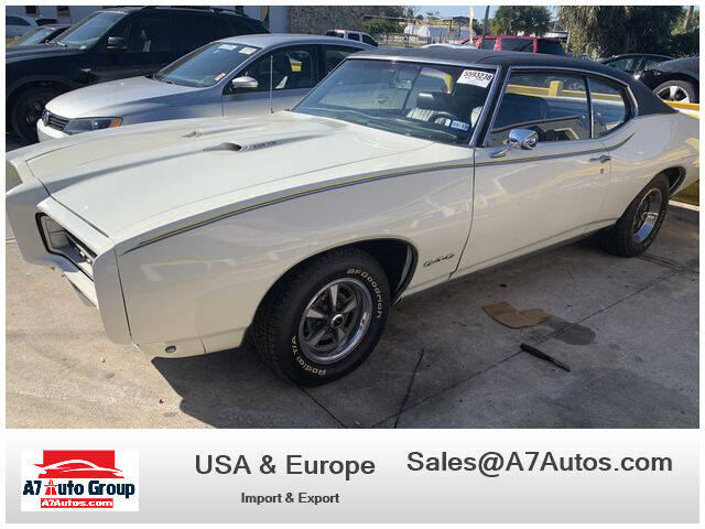 1969 Pontiac GTO for sale at A7 AUTO SALES in Holly Hill FL