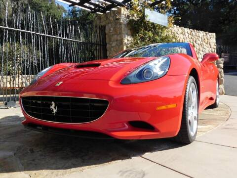 2010 Ferrari California for sale at Milpas Motors in Santa Barbara CA