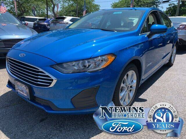 2019 Ford Fusion Hybrid for sale in Bay Shore, NY