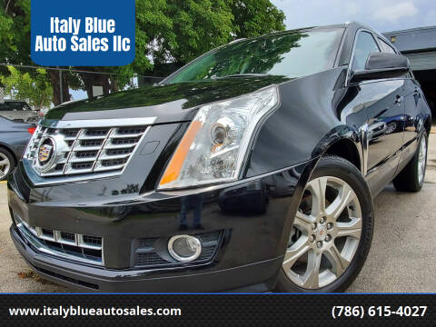 2014 Cadillac SRX for sale at Italy Blue Auto Sales llc in Miami FL