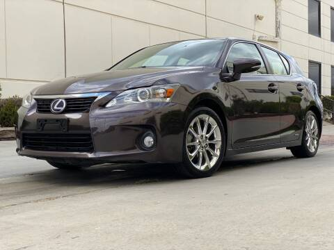 2011 Lexus CT 200h for sale at New City Auto - Retail Inventory in South El Monte CA