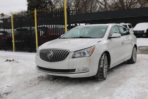 2015 Buick LaCrosse for sale at F & M AUTO SALES in Detroit MI