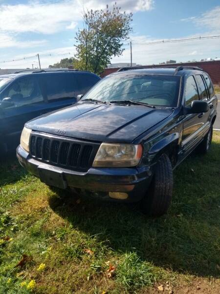 2000 Jeep Grand Cherokee for sale at Cheap Auto Rental llc in Wallingford CT