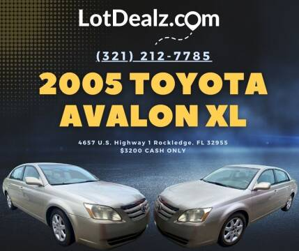 2005 Toyota Avalon for sale at ROCKLEDGE in Rockledge FL