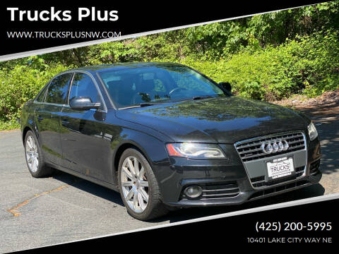 2010 Audi A4 for sale at Trucks Plus in Seattle WA