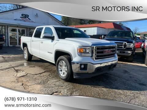 2014 GMC Sierra 1500 for sale at SR Motors Inc in Gainesville GA