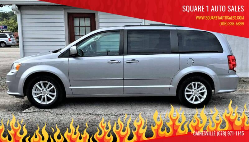 2015 Dodge Grand Caravan for sale at Square 1 Auto Sales in Commerce GA
