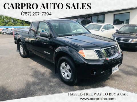 2009 Suzuki Equator for sale at Carpro Auto Sales in Chesapeake VA