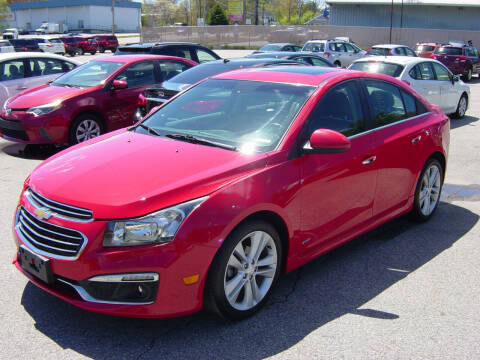 2015 Chevrolet Cruze for sale at North South Motorcars in Seabrook NH