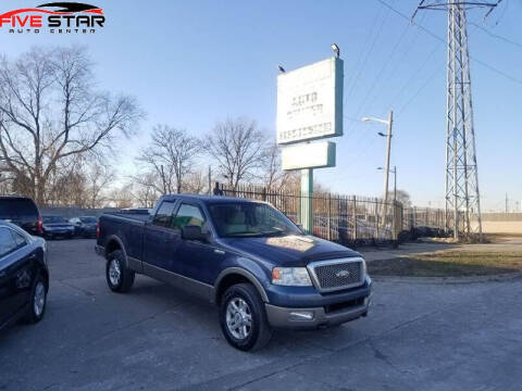 2004 Ford F-150 for sale at Five Star Auto Center in Detroit MI
