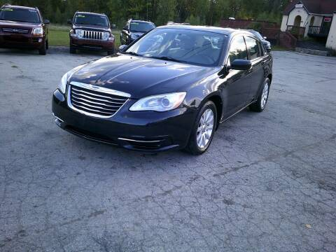 2011 Chrysler 200 for sale at Route 111 Auto Sales in Hampstead NH