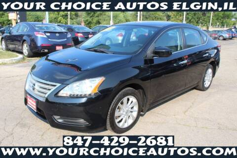 2013 Nissan Sentra for sale at Your Choice Autos - Elgin in Elgin IL