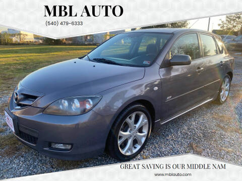 2007 Mazda MAZDA3 for sale at MBL Auto in Fredericksburg VA
