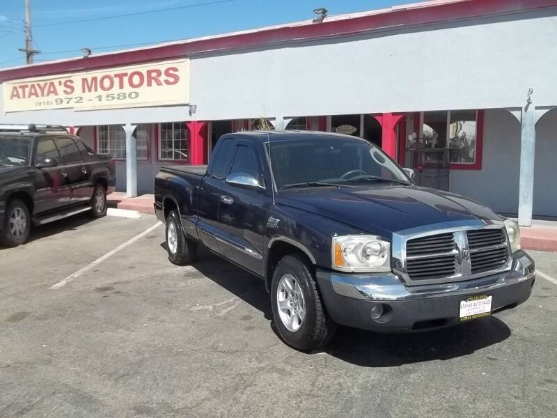 2005 Dodge Dakota for sale at Atayas Motors INC #1 in Sacramento CA