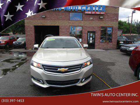2014 Chevrolet Impala for sale at Twin's Auto Center Inc. in Detroit MI