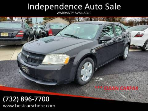 2008 Dodge Avenger for sale at Independence Auto Sale in Bordentown NJ