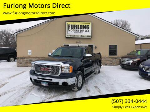 2010 GMC Sierra 1500 for sale at Furlong Motors Direct in Faribault MN