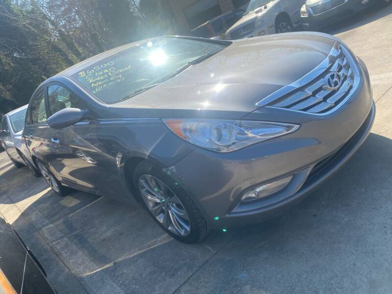 2012 Hyundai Sonata for sale at Copeland's Auto Sales in Union City GA