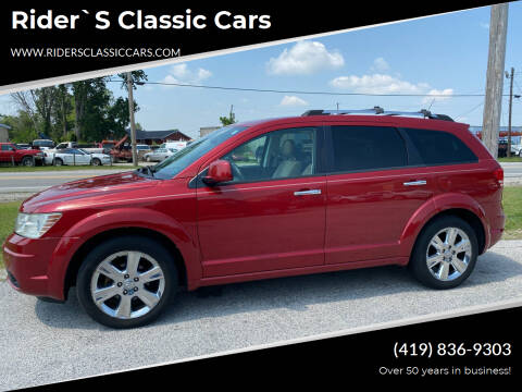 2010 Dodge Journey for sale at Rider`s Classic Cars in Millbury OH