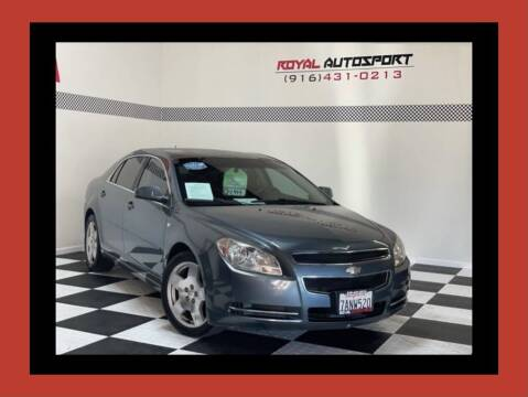 2008 Chevrolet Malibu for sale at Royal AutoSport in Sacramento CA