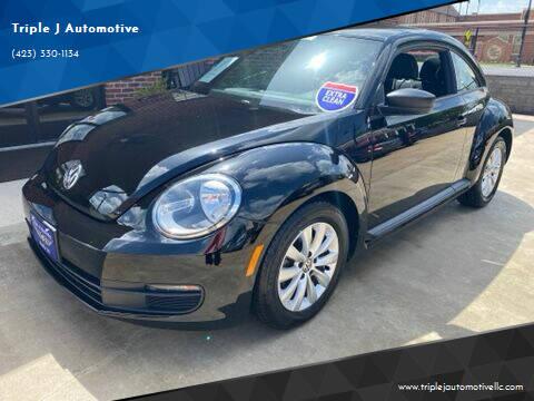 2014 Volkswagen Beetle for sale at Triple J Automotive in Erwin TN