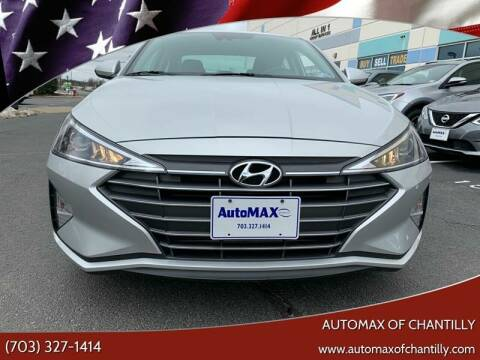 2019 Hyundai Elantra for sale at Automax of Chantilly in Chantilly VA