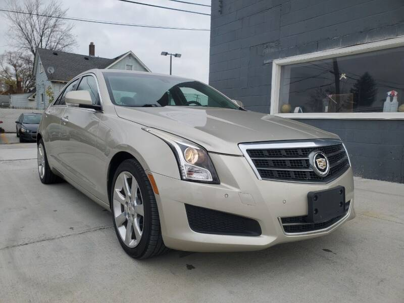 2013 Cadillac ATS for sale at NUMBER 1 CAR COMPANY in Detroit MI