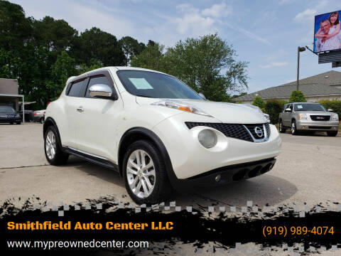 2012 Nissan JUKE for sale at Smithfield Auto Center LLC in Smithfield NC
