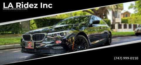 2018 BMW 5 Series for sale at LA Ridez Inc in North Hollywood CA