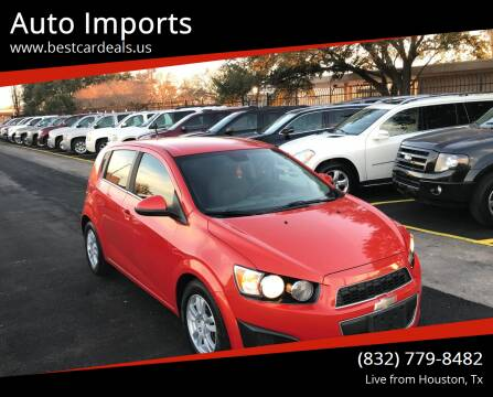 2012 Chevrolet Sonic for sale at Auto Imports in Houston TX