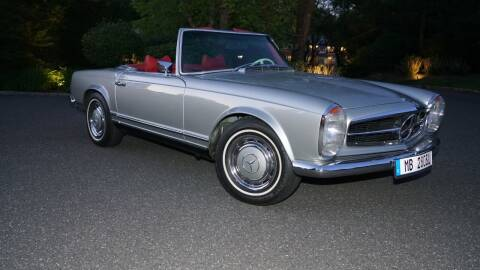 1971 Mercedes-Benz SL-Class for sale at Fiore Motors, Inc.  dba Fiore Motor Classics in Old Bethpage NY