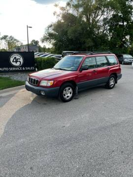 2001 Subaru Forester for sale at Station 45 Auto Sales Inc in Allendale MI
