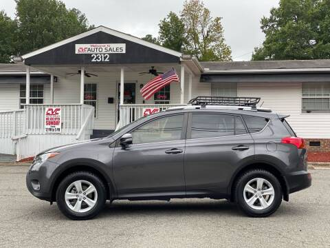 2013 Toyota RAV4 for sale at CVC AUTO SALES in Durham NC