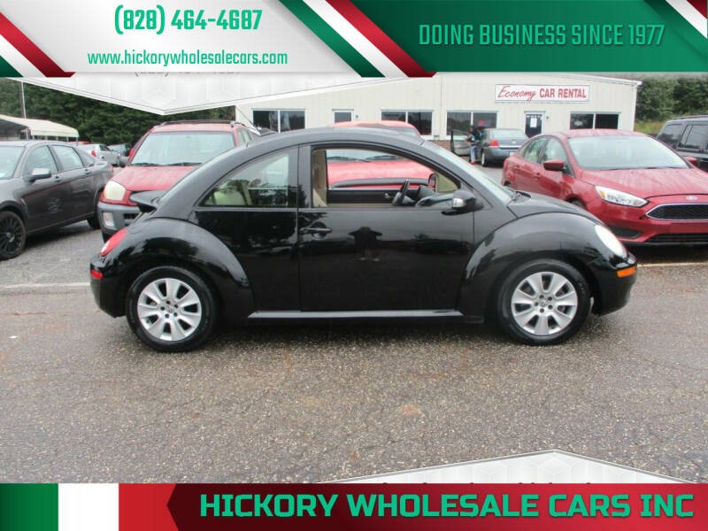 2009 Volkswagen New Beetle for sale at Hickory Wholesale Cars Inc in Newton NC