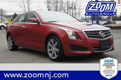 2014 Cadillac ATS for sale at Zoom Auto Group in Parsippany NJ