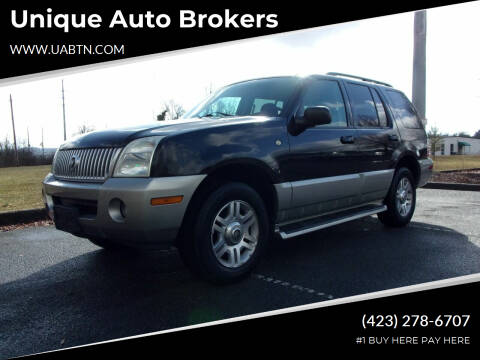 2003 Mercury Mountaineer for sale at Unique Auto Brokers in Kingsport TN