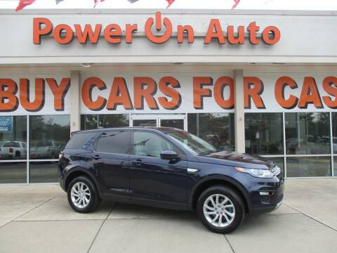 2017 Land Rover Discovery Sport for sale at Power On Auto LLC in Monroe NC